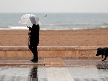 Alerta roja por el temporal en la Comunidad Valenciana