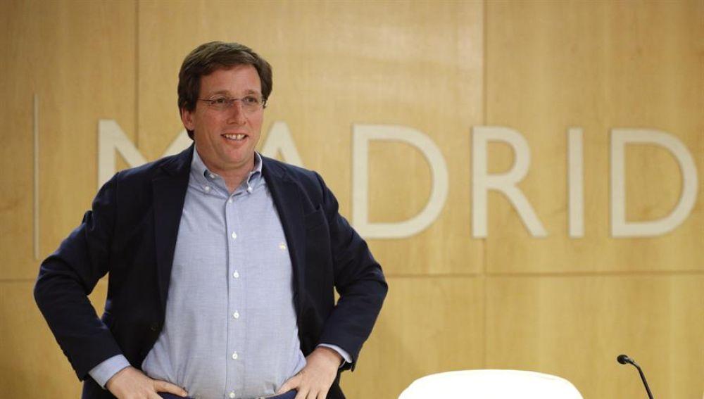 José Luis Martínez-Almeida, alcalde de Madrid