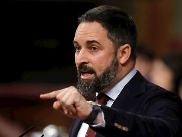 Imagen de archivo de Santiago Abascal en el Congreso