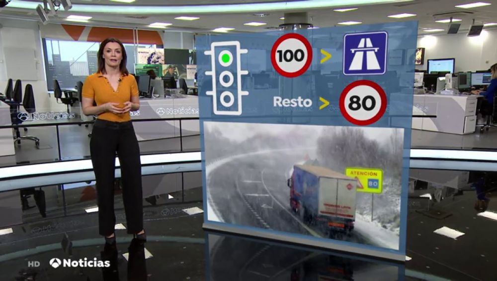 Recomendaciones para conducir bajo la nieve