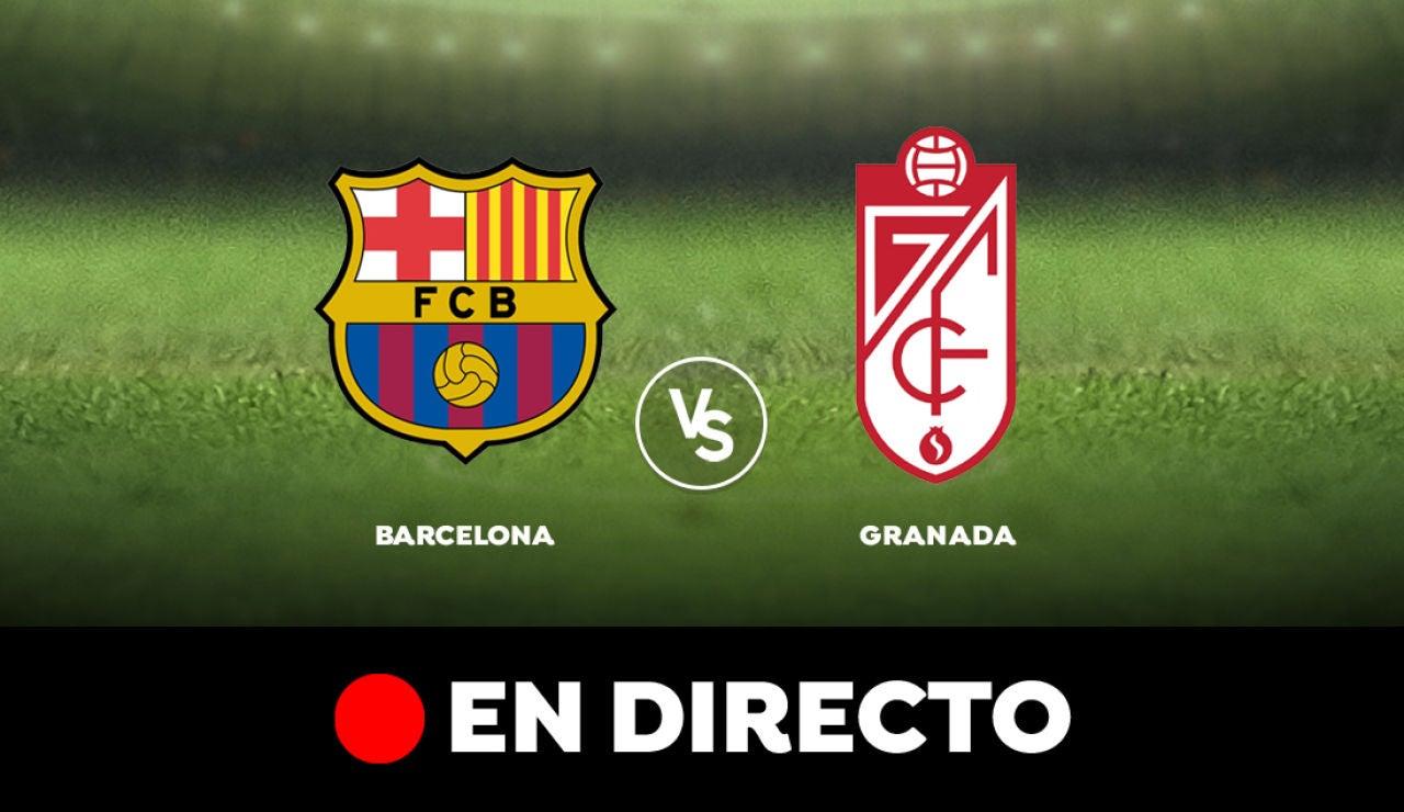 Barcelona - Granada: Liga Santander, en directo