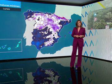 Ocho provincias, en alerta roja el lunes por nieve, olas y viento por el temporal 'Gloria'