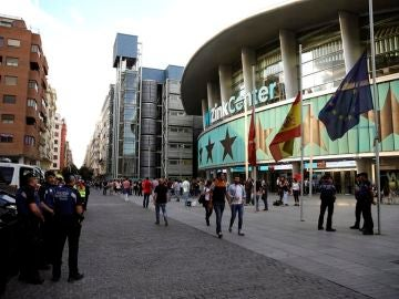 Fachada del Wizink Center en Madrid