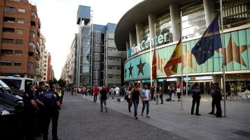 Fachada del Wizink Center en Madrid