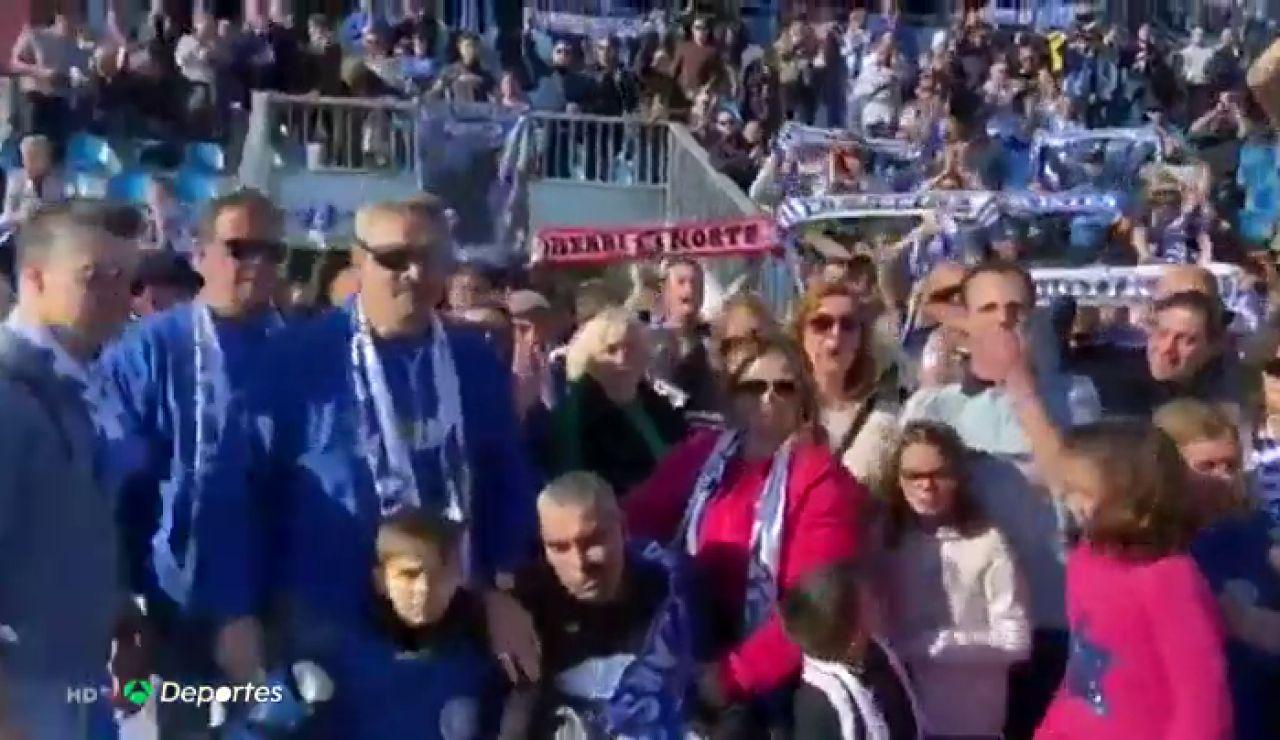 El bonito homenaje del Atlético Baleares