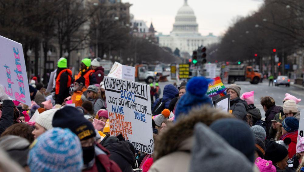'Marcha de las Mujeres' en 2020