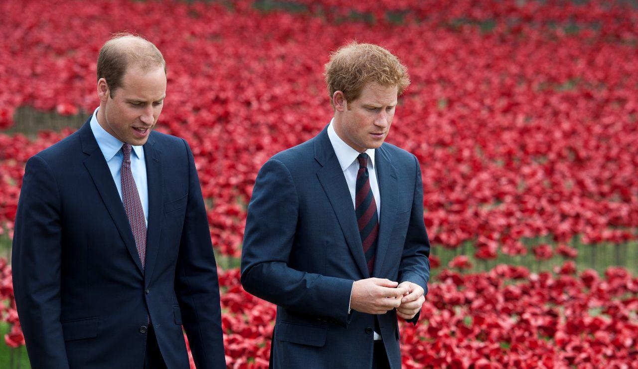 William y Harry se reconcilian tras el anuncio de que los Duques de Sussex rompen lazos con la monarquía británica