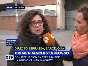 Crimen machista en Terrasa.