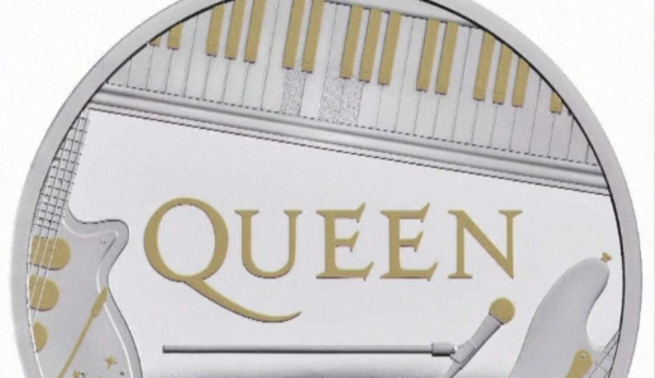 Monedas conmemorativas de Queen