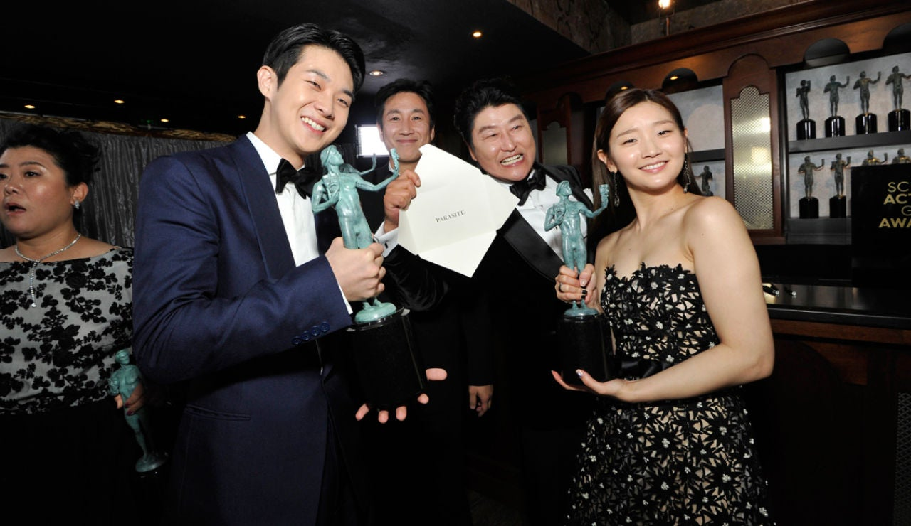 """""""Parásitos"""" da la campanada en los premios del Sindicato de Actores de Hollywood"""