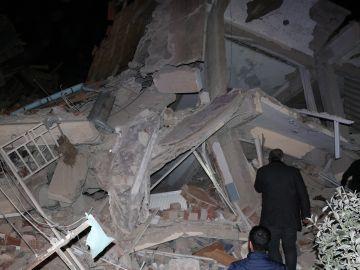 Imagen de los destrozos causados por el terremoto en Turquía.