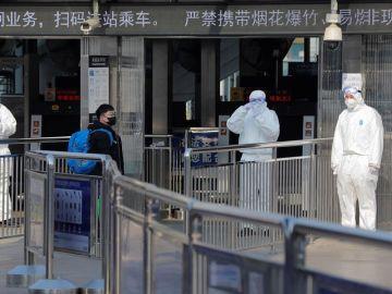 Controles en Pekín para evitar la propagación del coronavirus