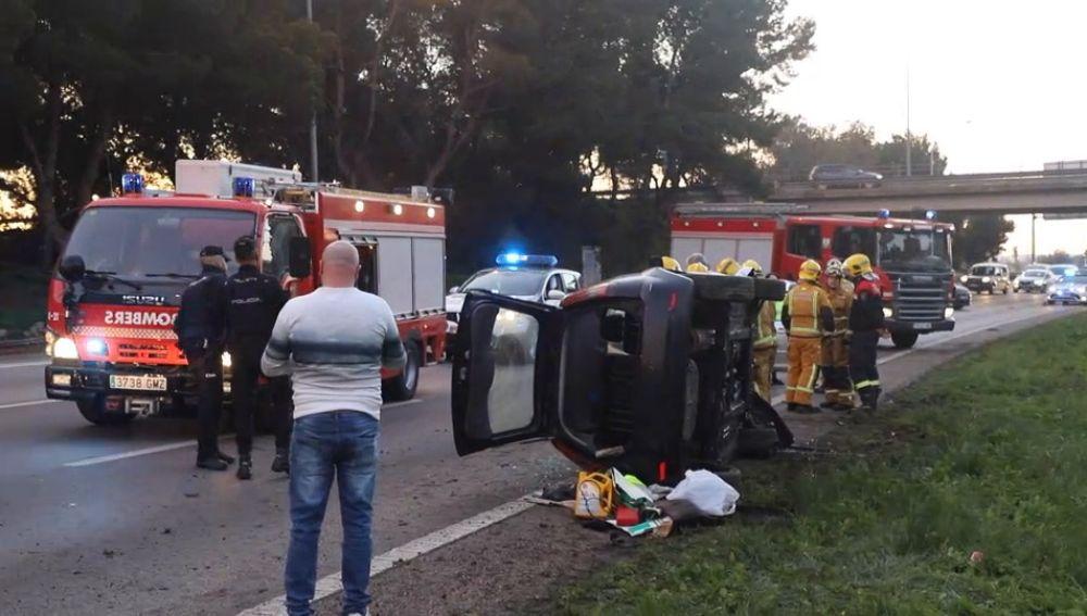 Una mujer se suicida y provoca un grave accidente en Mallorca