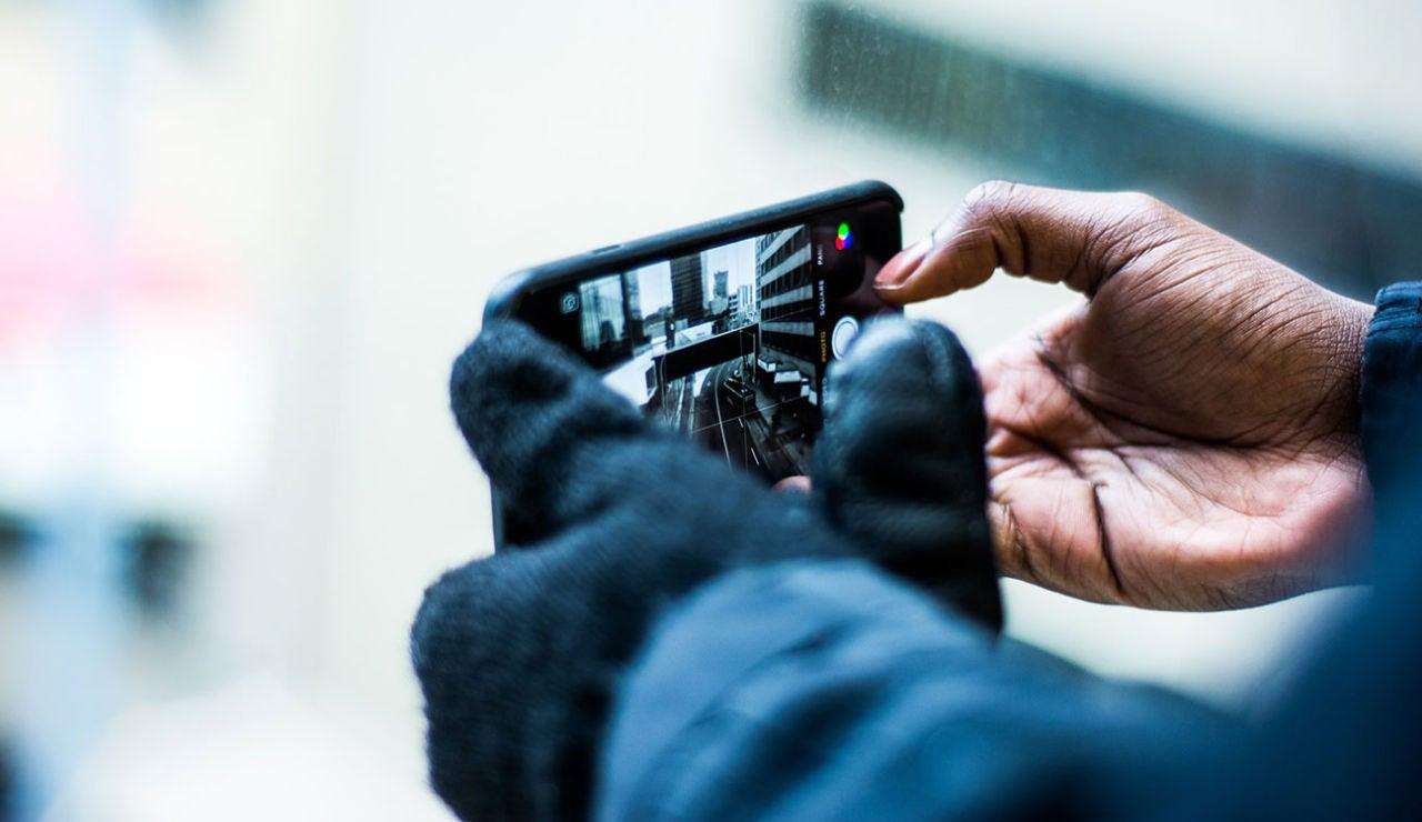 Cámara de fotos smartphone