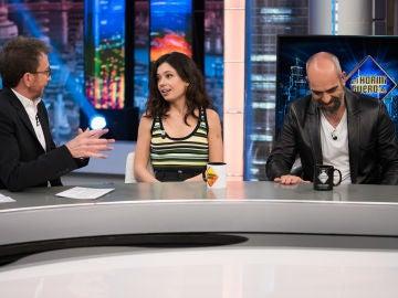 Ana Castillo y Luis Tosar revelan en 'El Hormiguero 3.0' el momento más díscolo de sus vidas