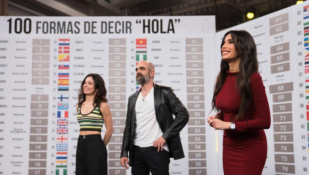La admirable demostración de Pilar Rubio: saludar en 100 idioma diferentes