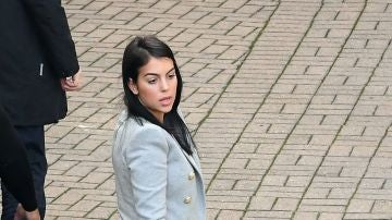 Georgina Rodríguez llega a San Remo
