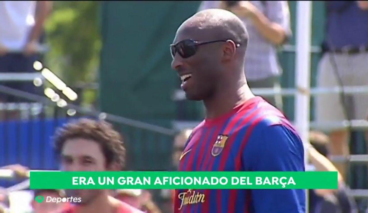 """La gran amistad de Kobe y Pau, la clave de su afición al FC Barcelona: """"Por un año, yo y Pau vamos a jugar ¿no?"""""""