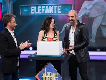 """Anna Castillo y Luis Tosar se enfrentan a la imitación más """"bestia"""" del público de 'El Hormiguero 3.0'"""