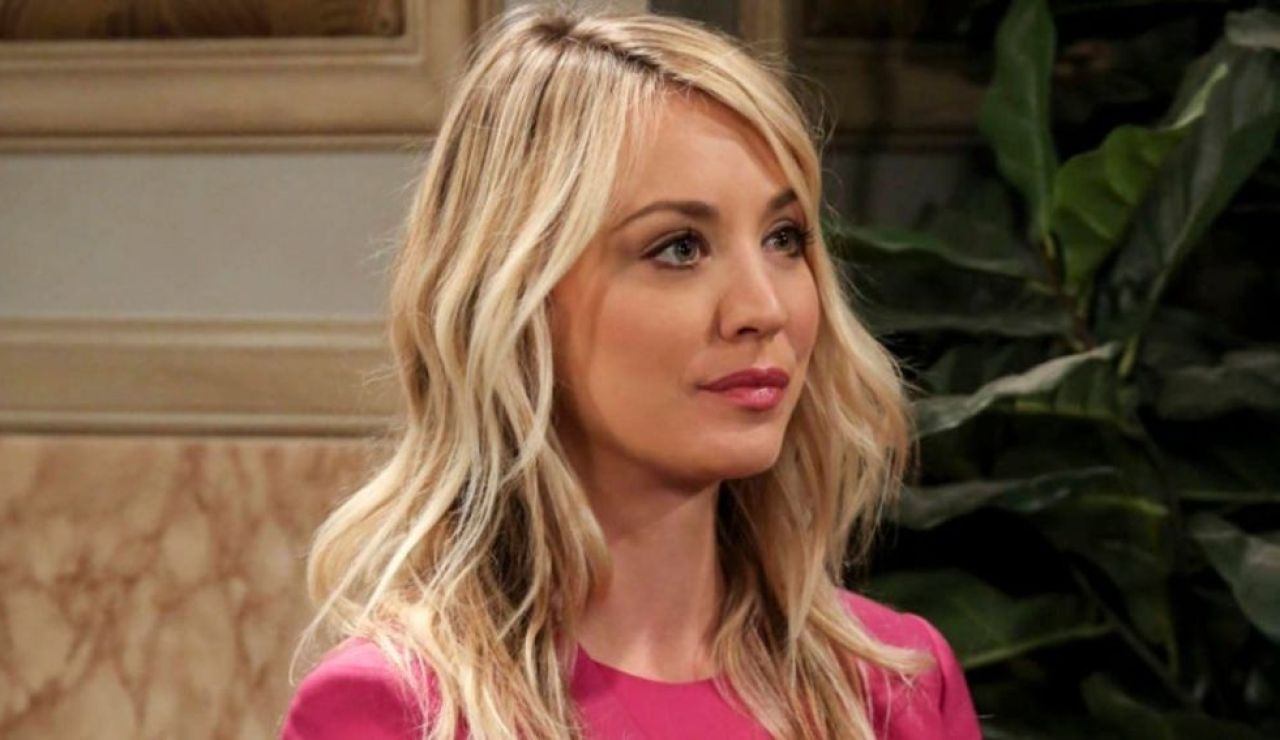 Kaley Cuoco en 'The Big Bang Theory'