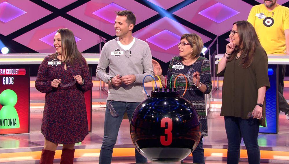 La divertida explicación del 'Team Croquet' sobre el motivo de la elección de su nombre en '¡Boom!'