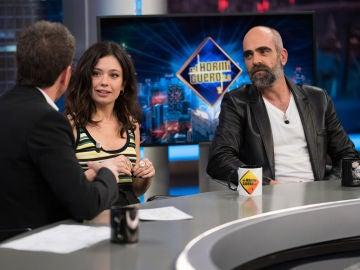 Luis Tosar y Anna Castillo comentan los altibajos de los Goya