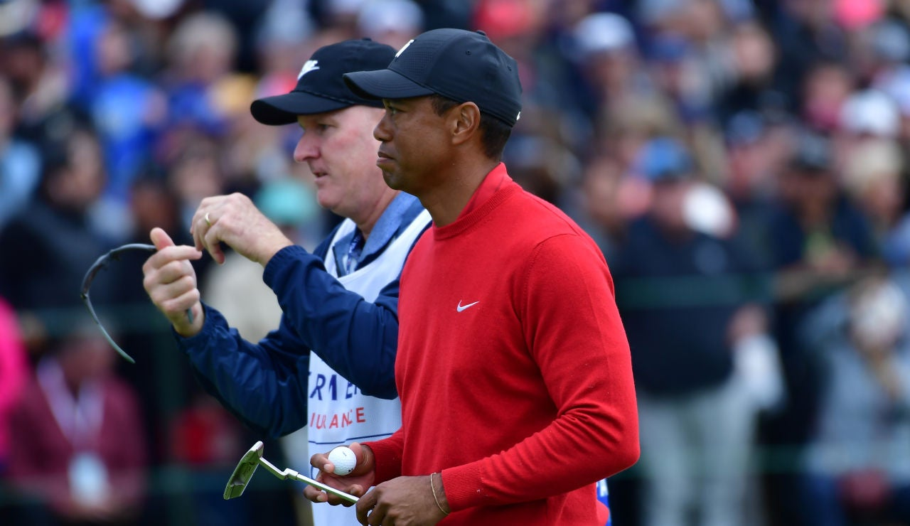 Tiger Woods, en el 'Farmers Insurance Open' de San Diego