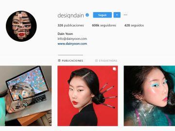 Instagram de la artista @designdain