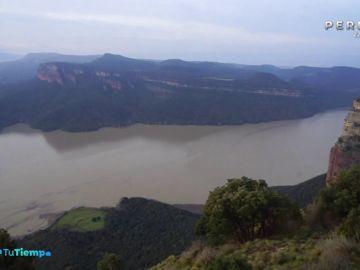 La borrasca 'Gloria' aumentan las reservas de los pantanos con Gerona con lluvias de récord