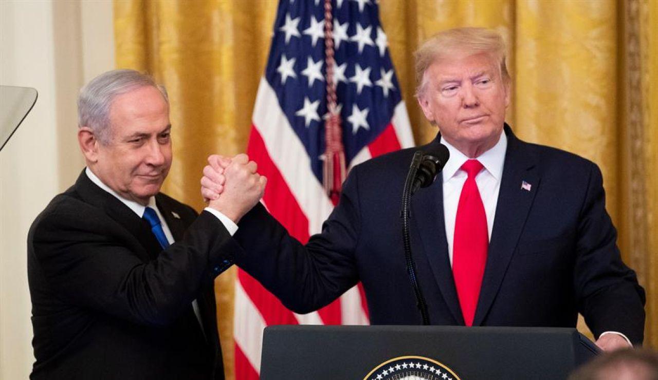 Así es el plan de paz entre Israel y Palestina que propone Trump