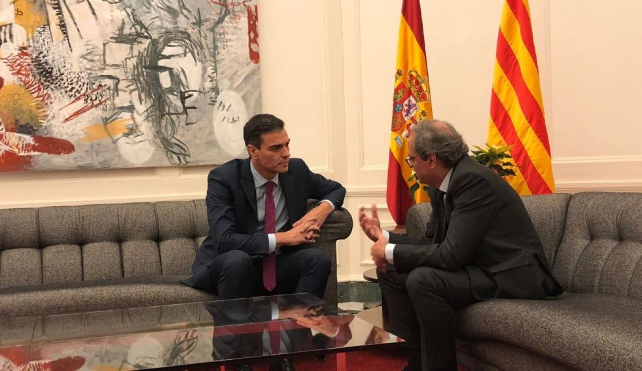 A3 Noticias 2 (28-01-20) La oposición exige a Pedro Sánchez que anule su reunión con Quim Torra el 6 de febrero