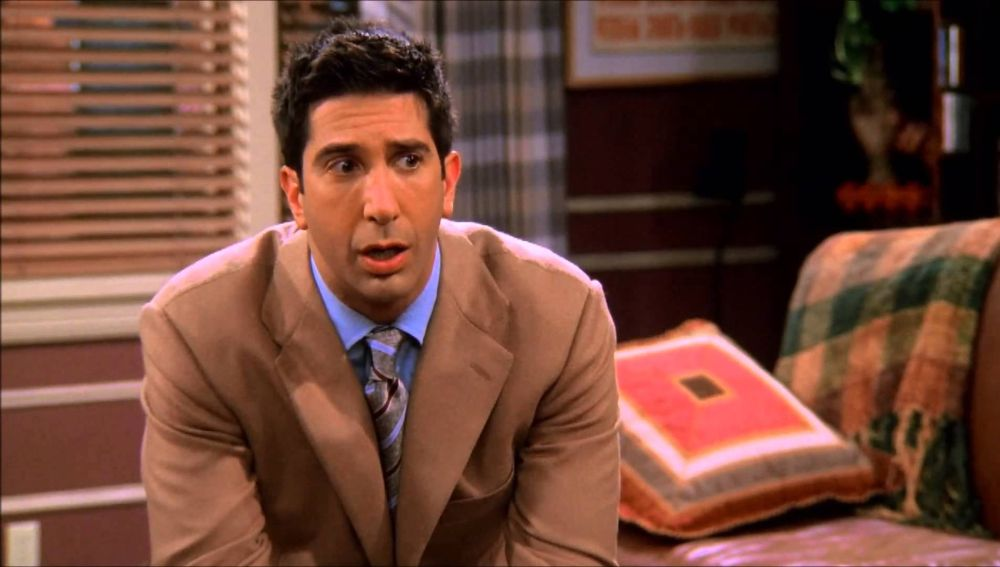 David Schwimmer como Ross Geller en 'Friends'