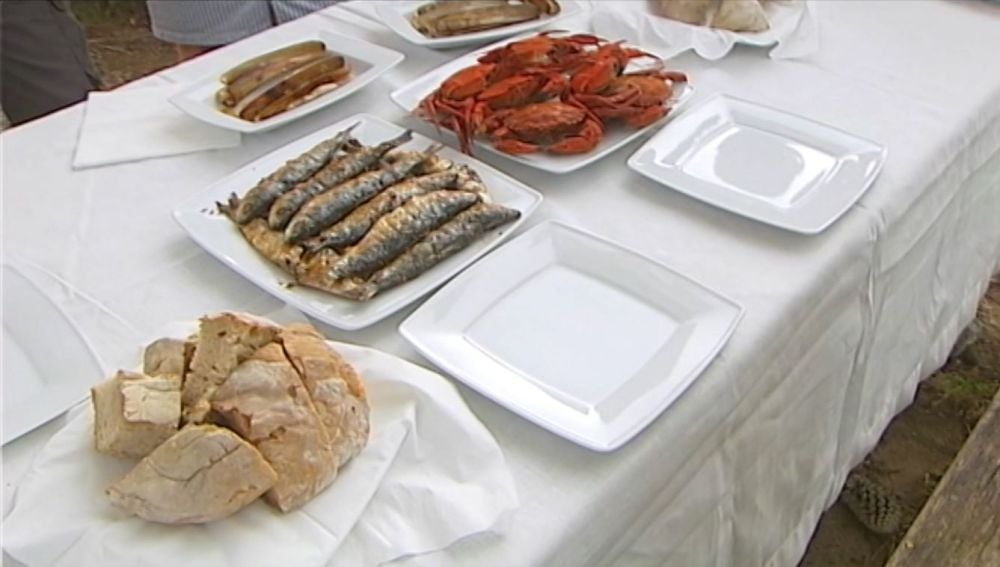 Productos gallegos.