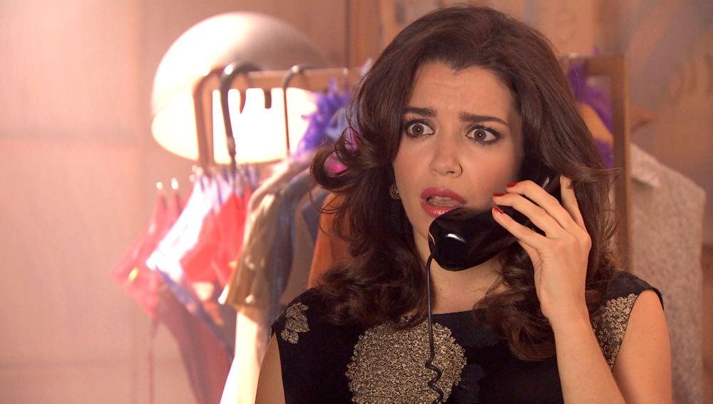 Amelia llama desde París preocupada por Manolita