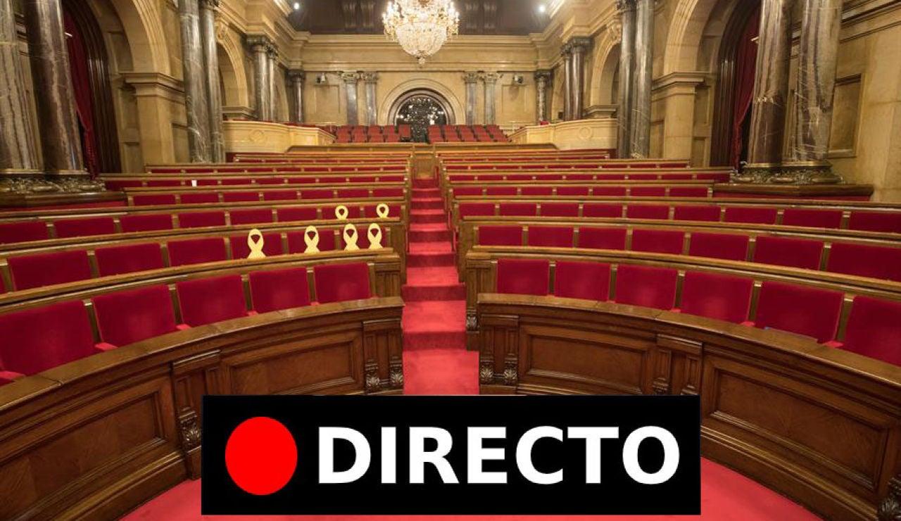 Comisión de investigación de la aplicación del 155 en Cataluña: Comparecencia de Oriol Junqueras, en directo