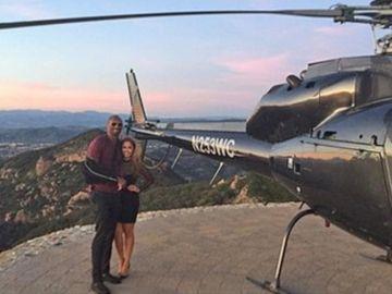 Kobe Bryant en helicóptero