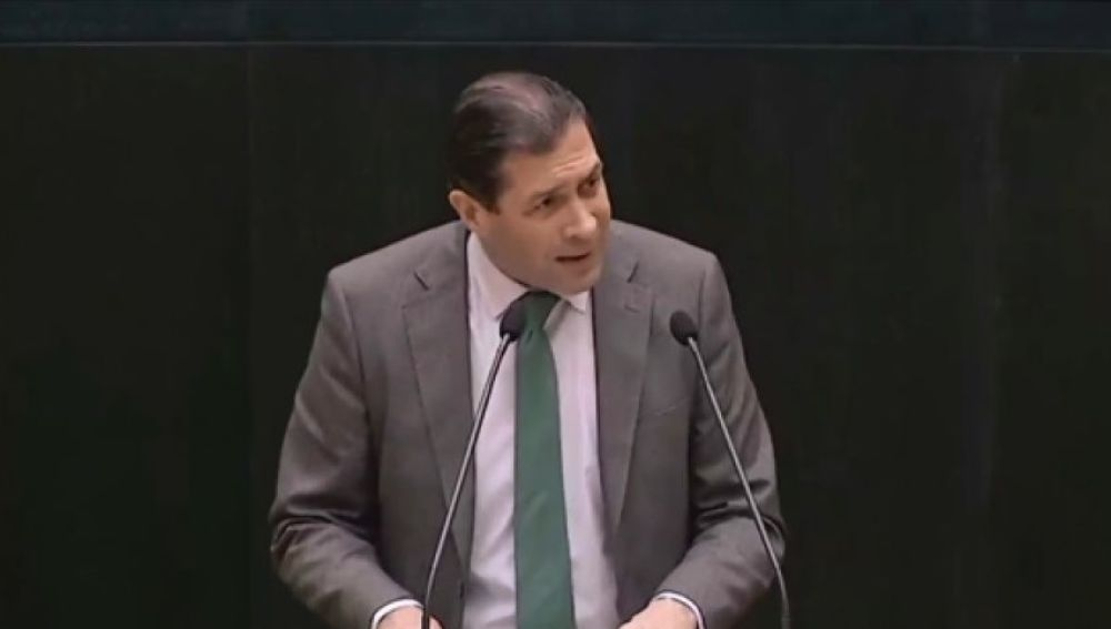 El concejal de Vox en Madrid Pedro Fernández