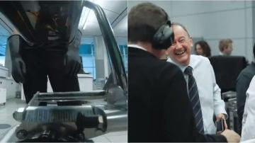 Momento del encendido del nuevo motor de McLaren