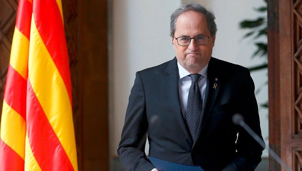 Quim Torra convocará elecciones en Cataluña tras la aprobación de los presupuestos