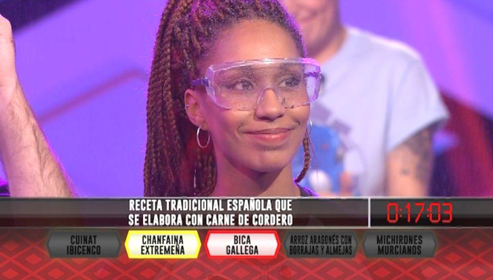 La chanfaina extremeña elimina a uno de los 'CV Madrid' en '¡Boom!'