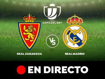 Zaragoza - Real Madrid: Resultado y goles del partido de hoy de la Copa del Rey 2020, en directo