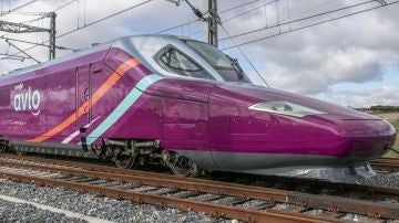 Un tren de AVLO