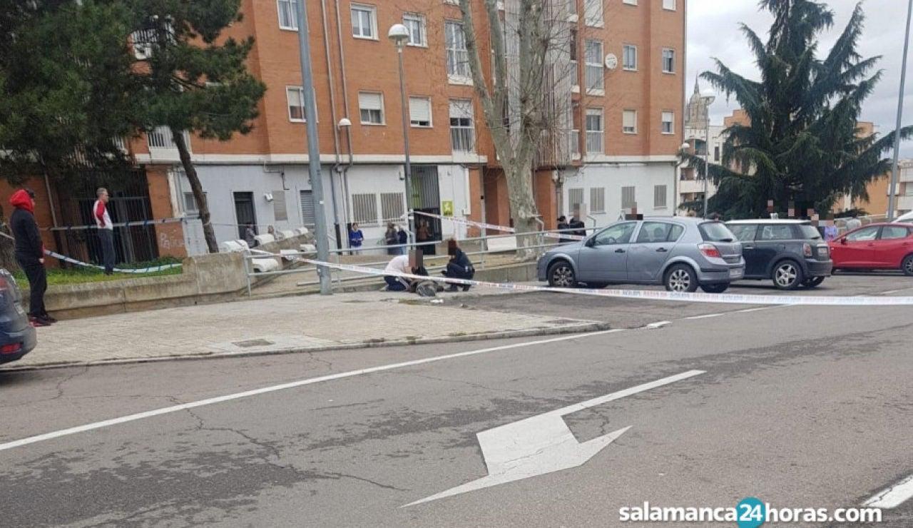 Tiroteo en Salamanca en el que ha fallecido un hombre