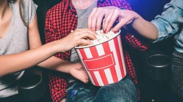 Palomitas en el cine