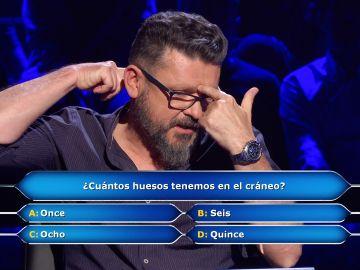 Alberto se arriesga a por los 100.000 euros de '¿Quién quiere ser millonario?'