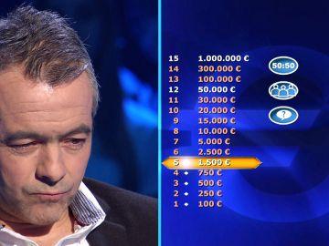 Atrévete con las preguntas del segundo programa de '¿Quién quiere ser millonario?'