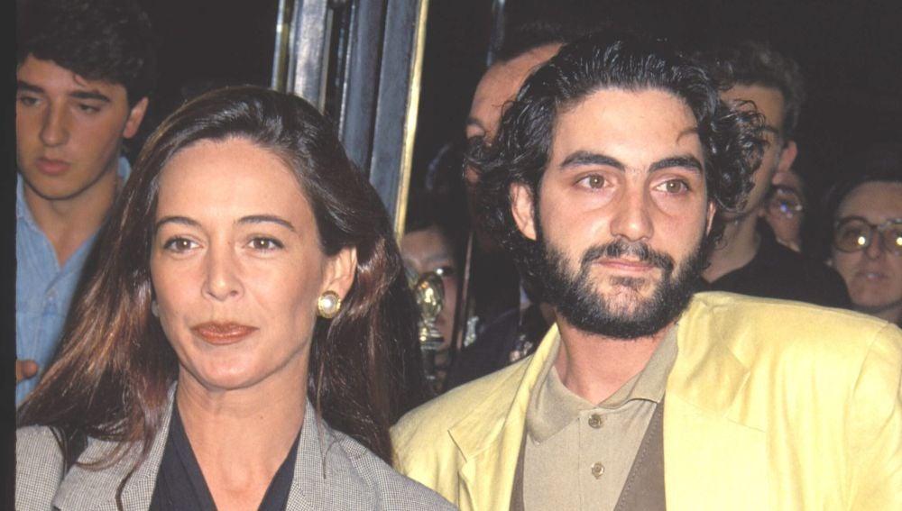 Lydia Bosch y Micky Molina