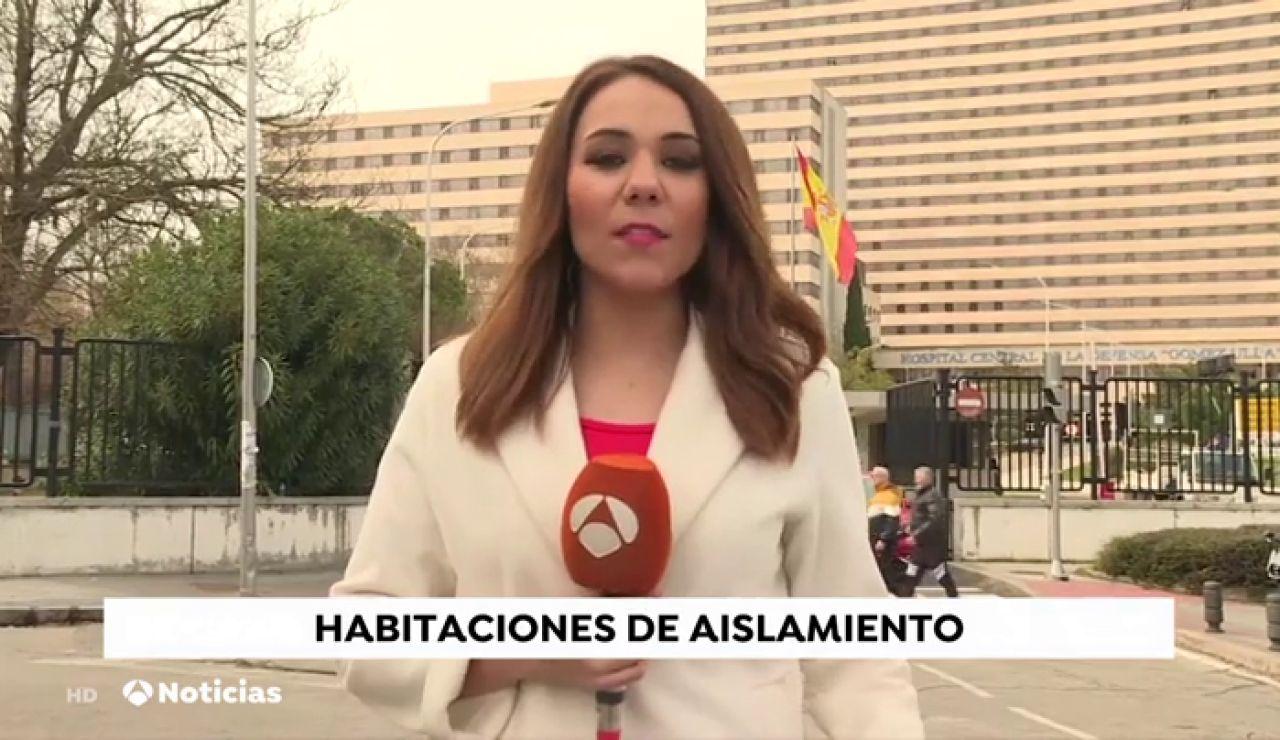 Preparadas unidades de aislamiento en tres hospitales de Madrid para posibles afectados por el coronavirus de Wuhan