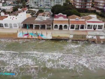 Las impresionantes imágenes de los destrozos que ha dejado el temporal 'Gloria' a su paso por Castellón