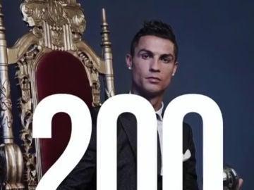 Cristiano Ronaldo llega a los 200 millones de seguidores en Instagram
